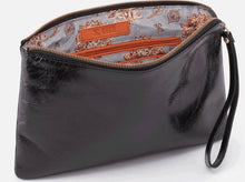 Load image into Gallery viewer, HOBO Wayfare Wristlet Clutch Black