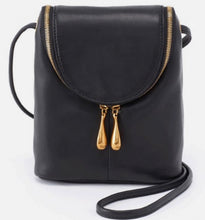 Load image into Gallery viewer, HOBO Fern Crossbody Black