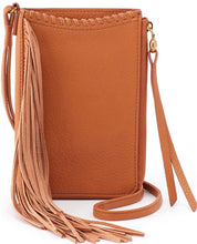 Load image into Gallery viewer, HOBO Moxie Crossbody Fringe Honey