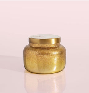 Gold Shimmer Glitz Volcano Candle 19 oz.