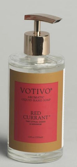 Votivo Red Currant Hand Soap