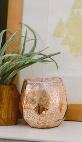 Sweet Grace Rose Gold Mercury #011 Candle