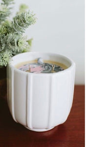 Sweet Grace White Line Detail #025 17.6 oz Candle