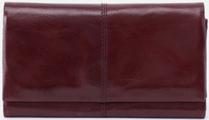 HOBO Keen Wallet Deep Plum
