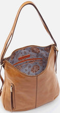 Load image into Gallery viewer, HOBO Merrin Convertible Backpack Purse Honey