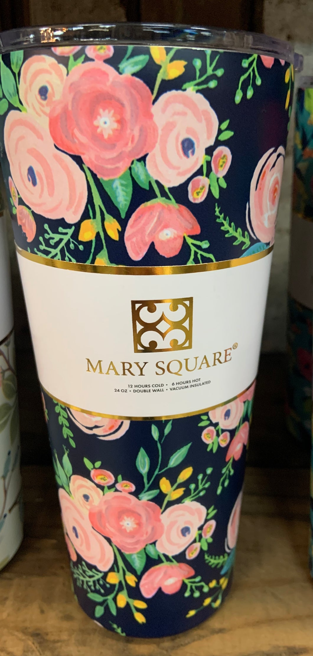 Mary Square Tumbler Navy