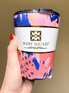 Mary Square Coffee Tumbler