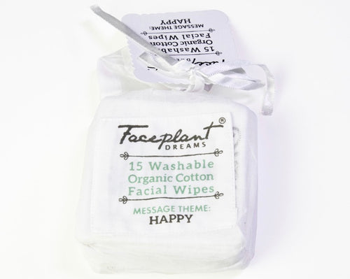 Faceplant Organic Cotton Facial Wipes