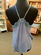 Load image into Gallery viewer, Blue B Lace Cami