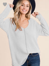 Load image into Gallery viewer, Bibi Waffle Knit Lightweight Top