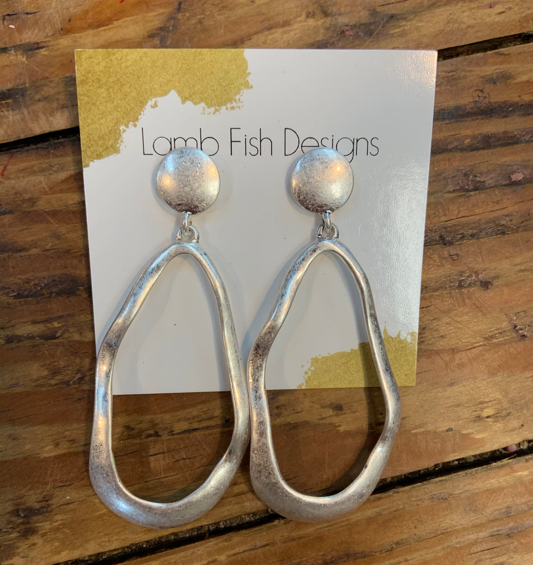 Lamb Fish Designs Earrings