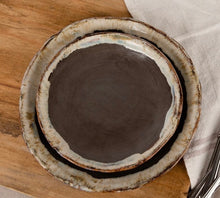 Load image into Gallery viewer, Etta B Round Salad Plate Gray