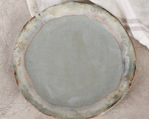 Etta B Salad Plate Peaceful Waters