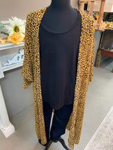 Load image into Gallery viewer, Umgee Plus Sheer Leopard Kimono