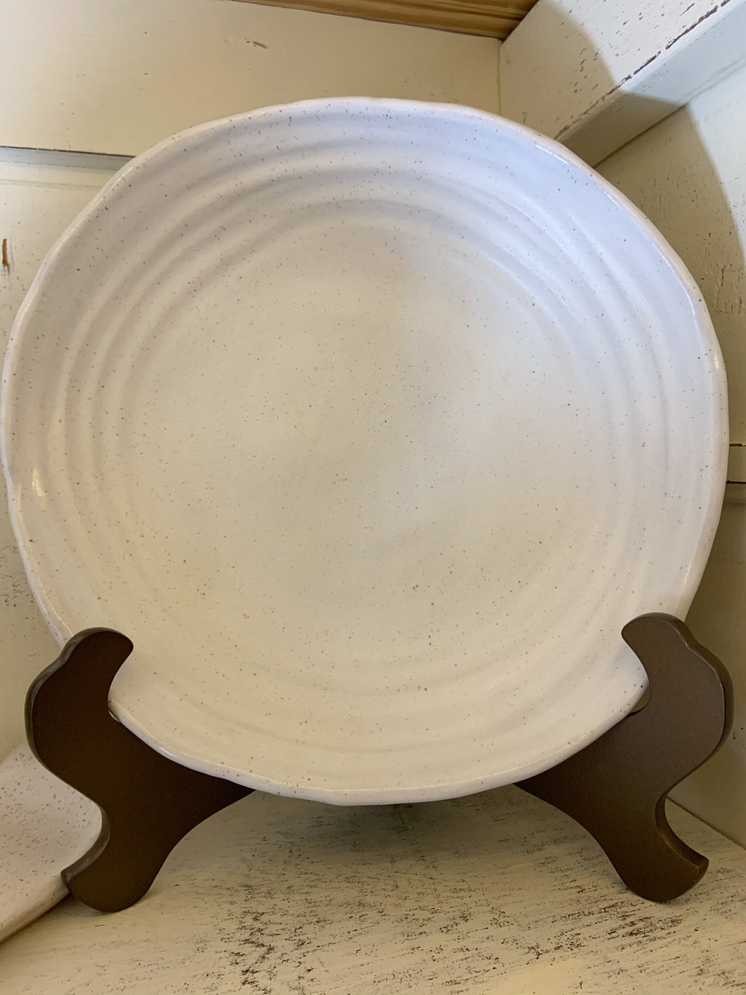 RC- Etta B Salad Server Dish Simply White