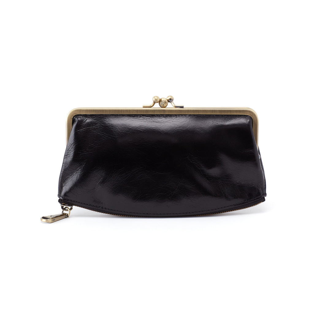 HOBO Millie Clutch Wallet Black
