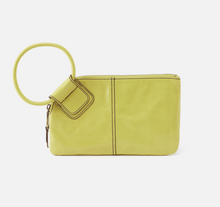 Load image into Gallery viewer, HOBO Sable Wristlet Lemongrass