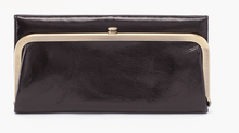 Load image into Gallery viewer, HOBO Rachel Wallet Black