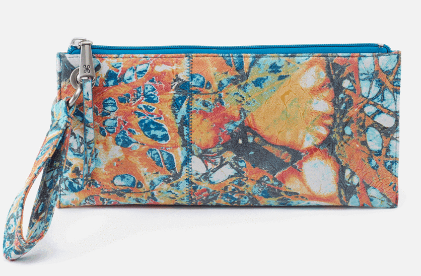 HOBO Vida Wristlet Summertime Abstract
