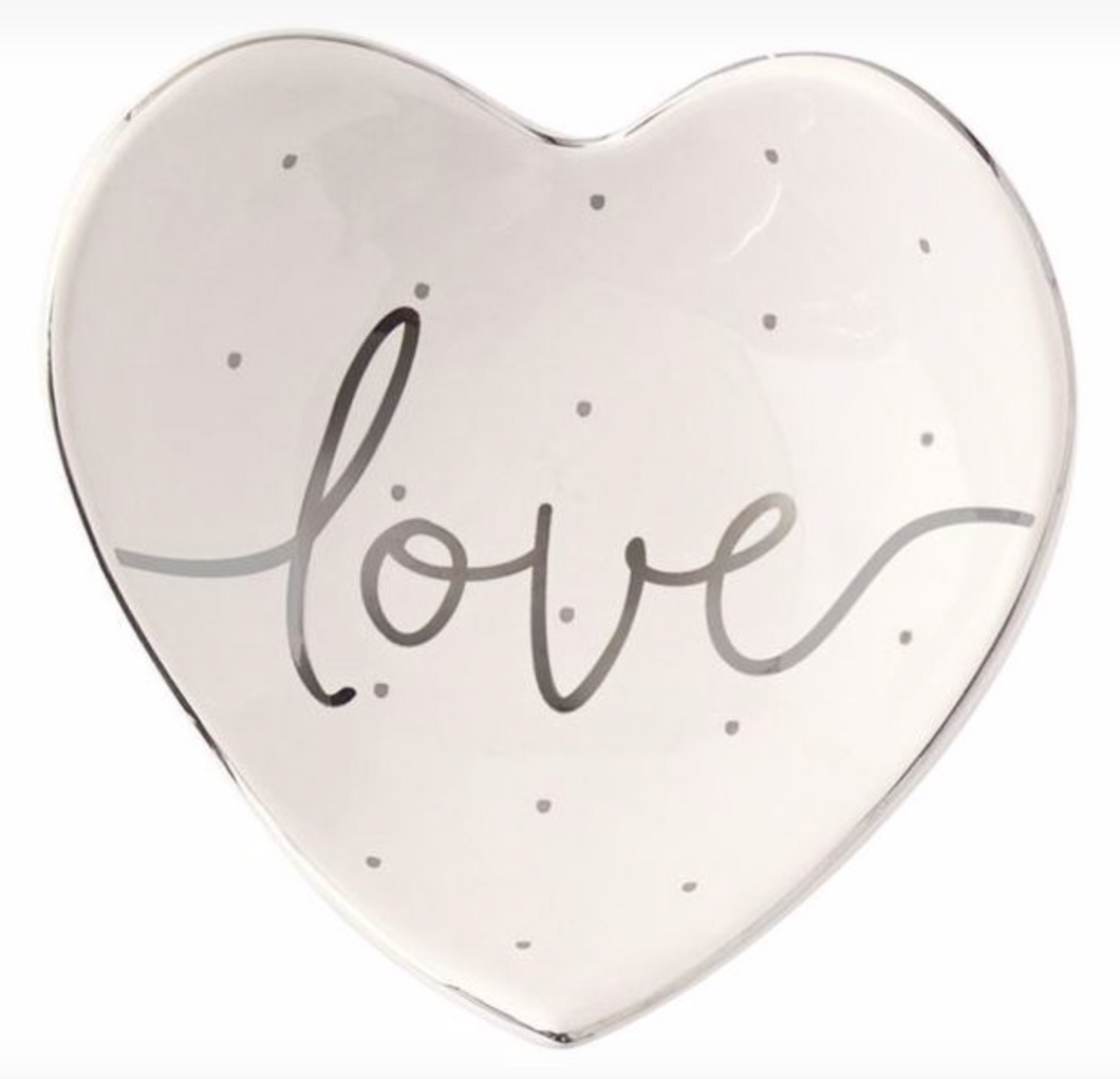 Mud Pie Love Tidbit Tray