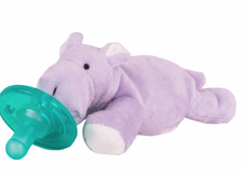 Load image into Gallery viewer, WubbaNub Paci Purple Hippo