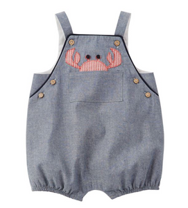 Mud Pie Chambray Crab Bubble