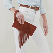 Load image into Gallery viewer, HOBO Dizzy Wristlet Toffee