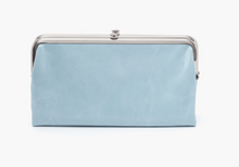 Load image into Gallery viewer, HOBO Lauren Wallet Whisper Blue