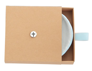 Mud Pie Blessed Cross Trinket Dish
