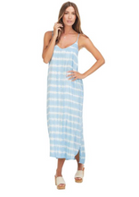 Load image into Gallery viewer, Mud Pie Amma Midi Dress Blue