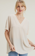 Load image into Gallery viewer, Jodifl Butter V-Neck Top