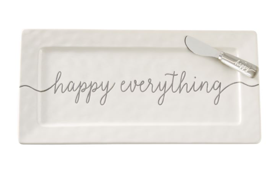 Mud Pie Happy Everything Hostess Set