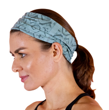 Load image into Gallery viewer, Faceplant INK Headband Aqua