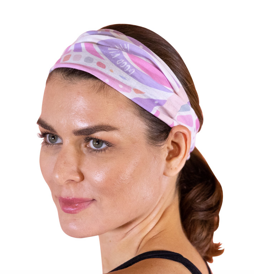 Faceplant INK Headband Pink