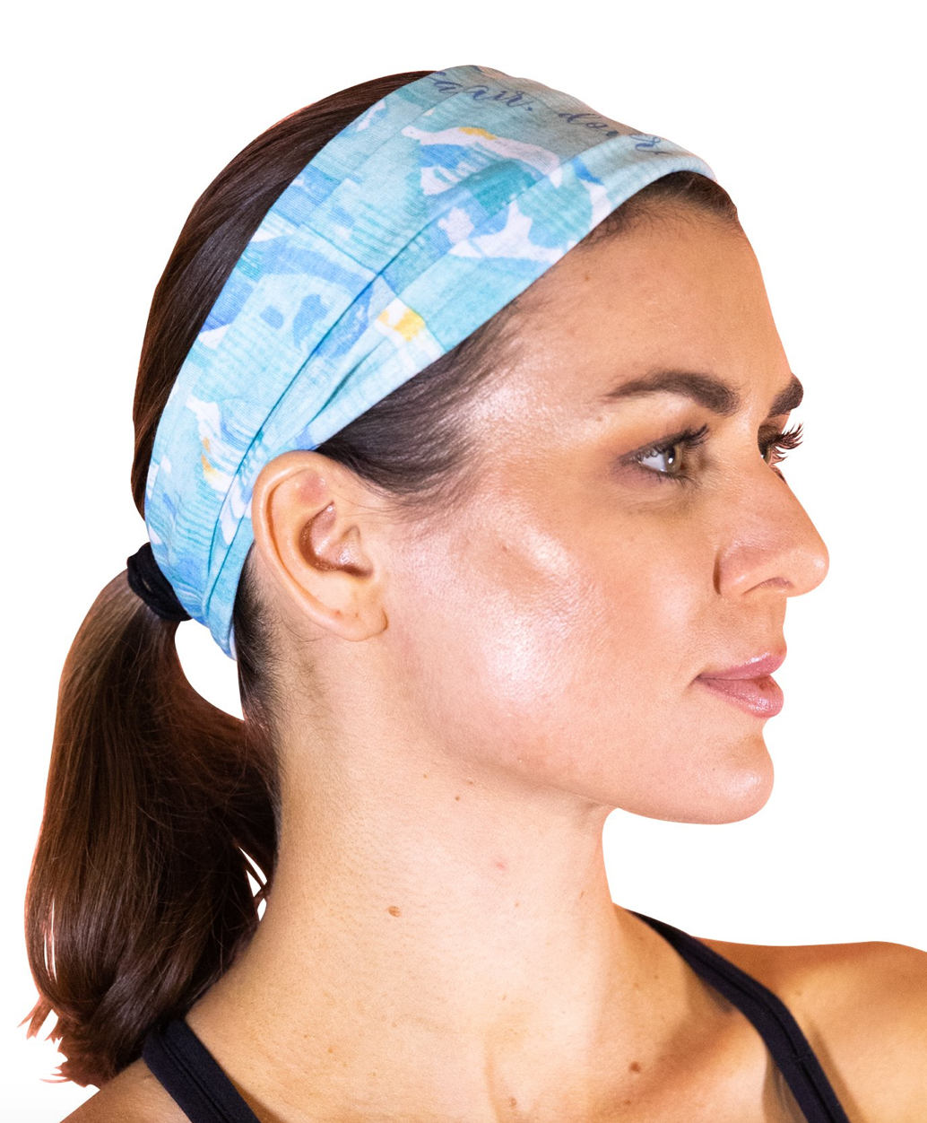 Faceplant INK Headband Blue