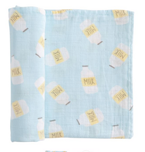 Mud Pie Milk Swaddle