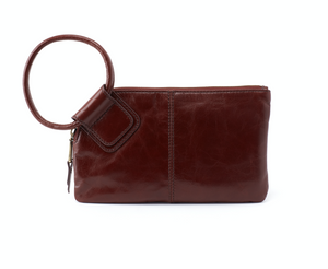 HOBO Sable Wristlet Chocolate