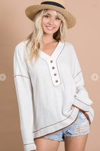 Load image into Gallery viewer, BL Henley Jersey Top