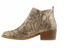 Load image into Gallery viewer, Corky's Port Tan Snake Bootie