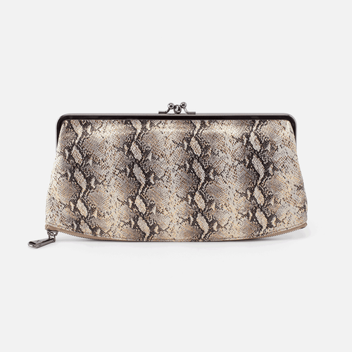 HOBO Mavis Clutch Metallic Snake