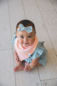 Copper Pearl Autumn Bandana Bib Set (4-Pack)