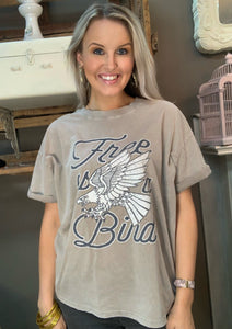 Free As A Bird Graphic Tee