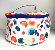 Load image into Gallery viewer, Mary Square Makeup Case Round Confetti Catwalk