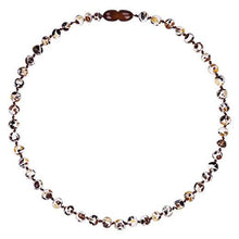 Load image into Gallery viewer, Powell's Owls Amber Teething Necklace Mosaic