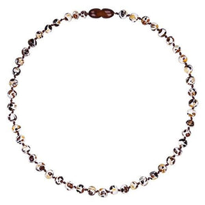 Powell's Owls Amber Teething Necklace Mosaic