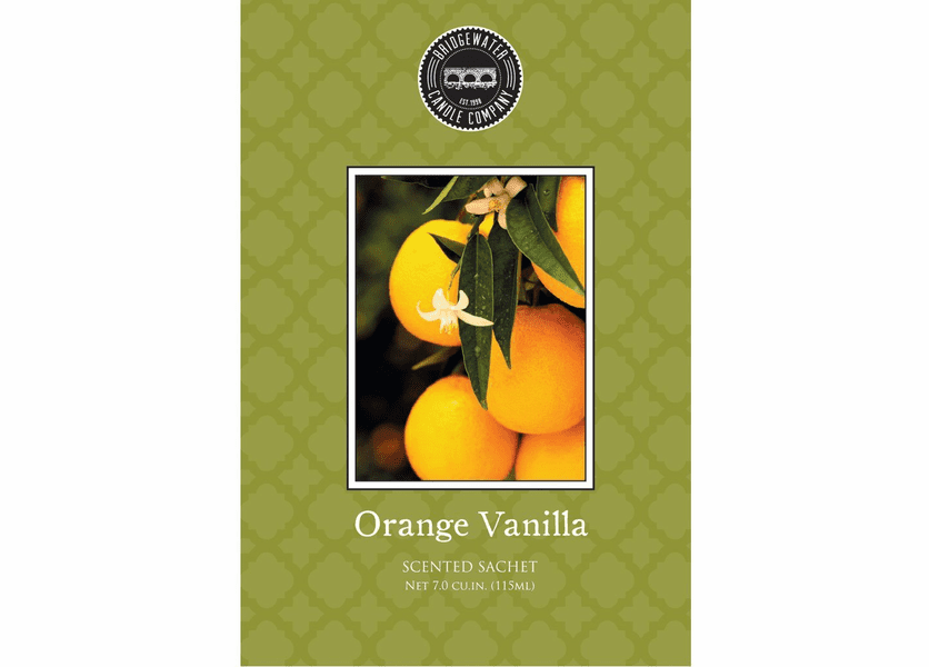 Bridgewater Orange Vanilla Sachets