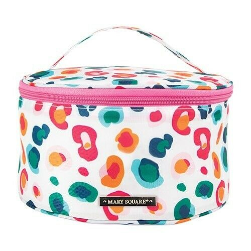 Mary Square Makeup Case Round Confetti Catwalk
