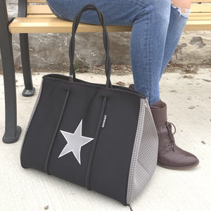 PreneLove Large Tote Shaded Star