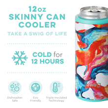 Load image into Gallery viewer, RC- Swig 12 oz Can Cooler Color Swirl