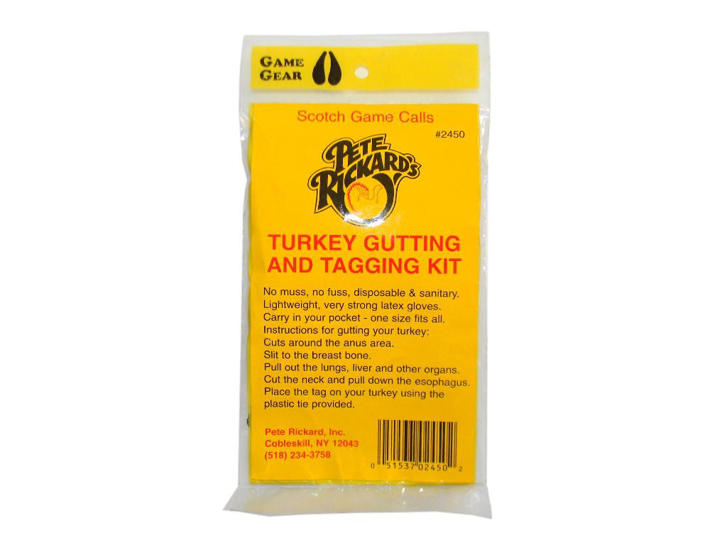 Turkey Gutting & Tagging Kit, #2450